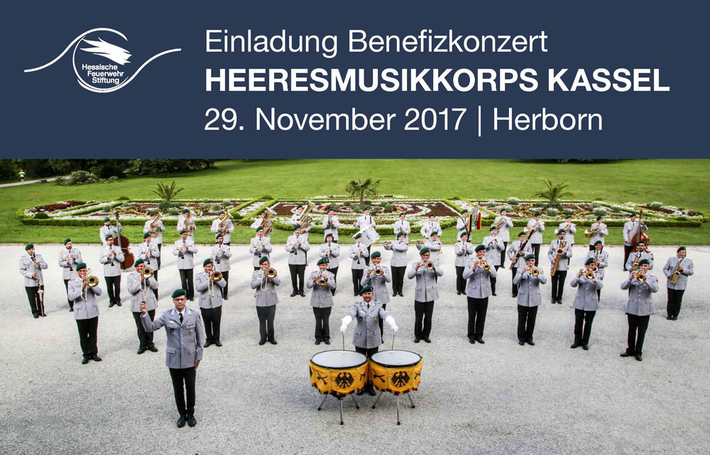 Benefizkonzert des Heeresmusikkorps Kassel